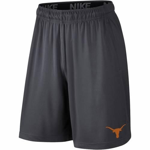 ナイキ NIKE テキサス ロゴ パフォーマンス ショーツ ハーフパンツ 2.0 メンズファッション ズボン パンツ メンズ 【 Texas Longhorns School Logo Fly 2.0 Performance Shorts - Anthracite 】 Anthracite