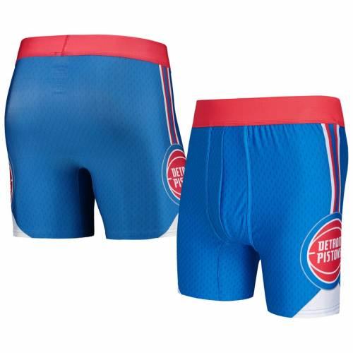 CONCEPTS SPORT デトロイト ピストンズ 青 ブルー インナー 下着 ナイトウエア メンズ 【 Detroit Pistons Flyaway Swingman Boxer Briefs - Blue 】 Blue