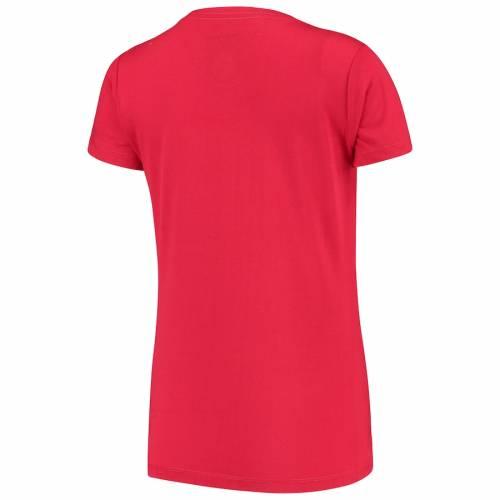 LEVELWEAR レディース Tシャツ 赤 レッド レディースファッション トップス カットソー 【 Liverpool Womens Daily Midfield T-shirt - Red 】 Red
