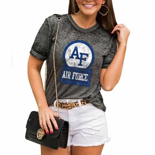 激安本物 ゲームデイカルチャー GAMEDAY COUTURE GAMEDAY エア ファルコンズ レディース COUTURE Tシャツ CHARCOAL チャコール エアフォース WOMEN'S【 AIR GAMEDAY COUTURE BETTER THAN BASIC BOYFRIEND TSHIRT CHARCOAL】 レディースファッション, おつまみ屋 ぐいっとはっちゃん:af221191 --- kventurepartners.sakura.ne.jp
