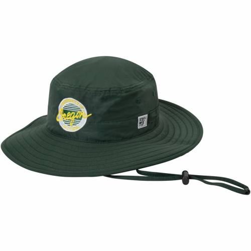 THE GAME オレゴン 緑 グリーン バッグ キャップ 帽子 メンズキャップ メンズ 【 Oregon Ducks Everyday Ultralight Boonie Bucket Hat - Green 】 Green