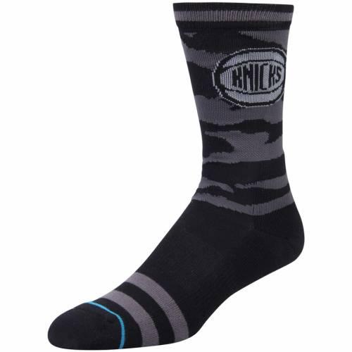 スタンス STANCE ニックス ナイト フォール ソックス 靴下 インナー 下着 ナイトウエア メンズ 下 レッグ 【 New York Knicks Night Fall Crew Socks 】 Color