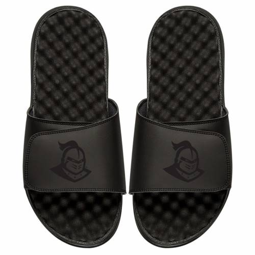ISLIDE ロゴ サンダル 黒 ブラック 【 SLIDE BLACK ISLIDE UCF KNIGHTS PRIMARY LOGO SANDALS 】 メンズ サンダル スポーツサンダル