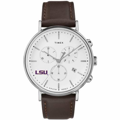 TIMEX タイメックス タイガース ジェネラル ウォッチ 時計 【 WATCH TIMEX LSU TIGERS GENERAL MANAGER COLOR 】 腕時計 メンズ腕時計