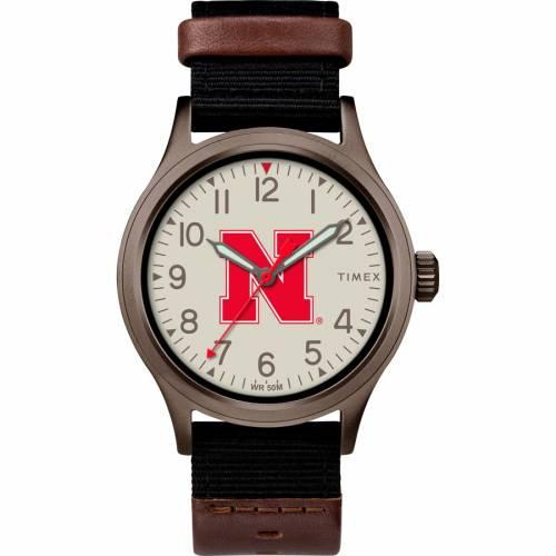 TIMEX タイメックス ウォッチ 時計 【 WATCH TIMEX NEBRASKA CORNHUSKERS CLUTCH COLOR 】 腕時計 メンズ腕時計