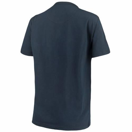 PRESSBOX ミシガン レディース Tシャツ 紺 ネイビー WOMEN'SNAVY PRESSBOX MICHIGAN WOLVERINES SAYLOR CHOKER TSHIRTレディースファッション トップス Tシャツ カットソー8OwPkn0X