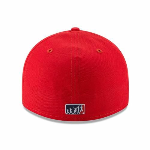 ニューエラ NEW ERA ワシントン ナショナルズ 赤 レッド バッグ キャップ 帽子 メンズキャップ メンズ 【 Washington Nationals 2017 Players Weekend Low Profile 59fifty Fitted Hat - Red 】 Red