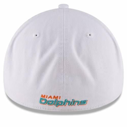 ニューエラ NEW ERA マイアミ ドルフィンズ コア 白 ホワイト 【 WHITE NEW ERA MIAMI DOLPHINS NE CORE FIT 49FORTY FITTED HAT 】 バッグ  キャップ 帽子 メンズキャップ 帽子