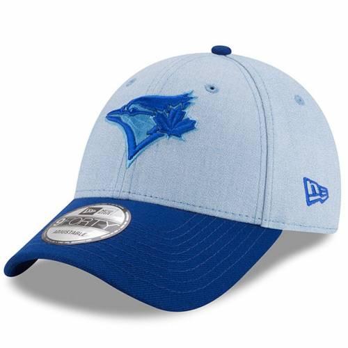 ニューエラ NEW ERA トロント 青 ブルー バッグ キャップ 帽子 メンズキャップ メンズ 【 Toronto Blue Jays 2018 Fathers Day 9forty Adjustable Hat - Light Blue 】 Light Blue