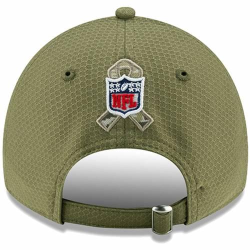 ニューエラ NEW ERA レイダース サイドライン オリーブ バッグ キャップ 帽子 メンズキャップ メンズ 【 Las Vegas Raiders 2019 Salute To Service Sideline 9twenty Adjustable Hat - Olive 】 Olive