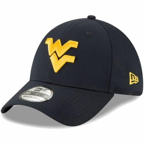 ニューエラ NEW ERA バージニア 紺 ネイビー バッグ キャップ 帽子 メンズキャップ メンズ 【 West Virginia Mountaineers Perforated Play 39thirty Flex Hat - Navy 】 Navy