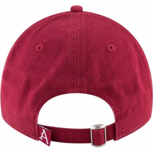 ニューエラ NEW ERA コア 赤 カーディナル バッグ キャップ 帽子 メンズキャップ メンズ 【 Arkansas Razorbacks Core 9twenty Adjustable Hat - Cardinal 】 Cardinal
