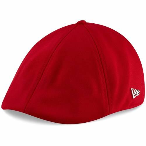 ニューエラ NEW ERA バッカニアーズ 赤 レッド バッグ キャップ 帽子 メンズキャップ メンズ 【 Tampa Bay Buccaneers Suiting Duckbill Fitted Hat - Red 】 Red