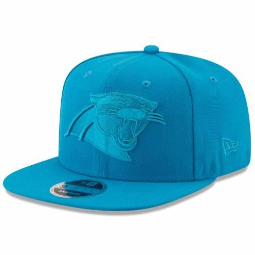 ニューエラ NEW ERA カロライナ パンサーズ スナップバック バッグ 青 ブルー キャップ 帽子 メンズキャップ メンズ 【 Carolina Panthers Metallic Mark Original Fit 9fifty Snapback Adjustable Hat - Blue 】 Blu