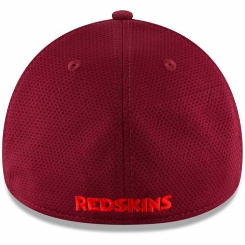 ニューエラ NEW ERA ワシントン レッドスキンズ チーム テック ワイン色 バーガンディーTEAM NEW ERA WASHINGTON REDSKINS COLOR TONE TECH REDUX 39THIRTY FLEX HAT BURGUNDYバッグキャップ 帽子 メンズCeBxrod