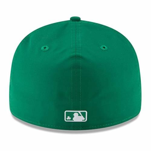 ニューエラ NEW ERA メッツ 緑 グリーン St. バッグ キャップ 帽子 メンズキャップ メンズ 【 New York Mets 2018 St. Patricks Day Prolight Low Profile 59fifty Fitted Hat - Green 】 Green