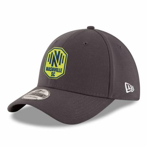ニューエラ NEW ERA 黒 ブラック バッグ キャップ 帽子 メンズキャップ メンズ 【 Nashville Sc 39thirty Flex Hat - Black 】 Charcoal