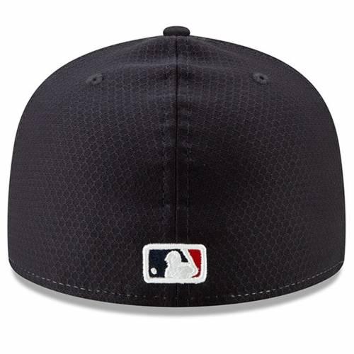 ニューエラ NEW ERA クリーブランド インディアンズ スプリング トレーニング バッグ キャップ 帽子 メンズキャップ メンズ 【 Cleveland Indians 2019 Spring Training 59fifty Fitted Hat - Red/navy 】 Red/na