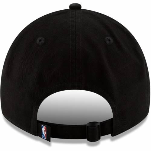 ニューエラ NEW ERA シカゴ ブルズ シリーズ 黒 ブラック バッグ キャップ 帽子 メンズキャップ メンズ 【 Chicago Bulls 2018 Tip-off Series 9twenty Adjustable Hat - Black 】 Black