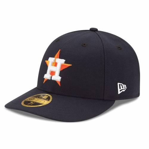 ニューエラ NEW ERA ヒューストン アストロズ オーセンティック コレクション 紺 ネイビー バッグ キャップ 帽子 メンズキャップ メンズ 【 Houston Astros Home Authentic Collection On-field Low Profile