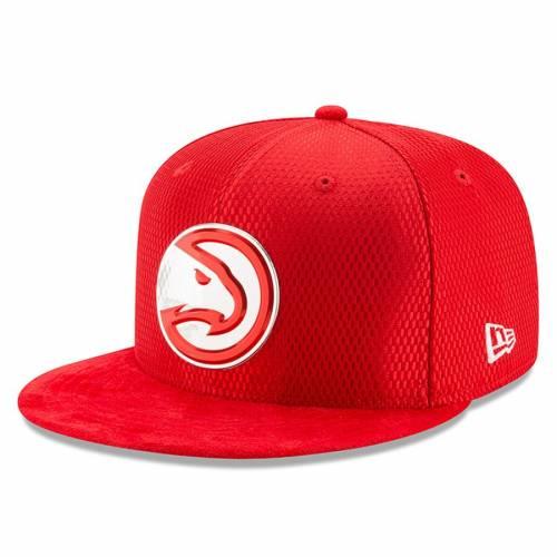 ニューエラ NEW ERA アトランタ ホークス カウント コレクション 赤 レッド バッグ キャップ 帽子 メンズキャップ メンズ 【 Atlanta Hawks 2017 Nba Draft Official On Court Collection 59fifty Fitted Hat - Red