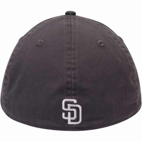 ニューエラ NEW ERA パドレス コア バッグ キャップ 帽子 メンズキャップ メンズ 【 San Diego Padres Core 49forty Fitted Hat - Graphite 】 Graphite