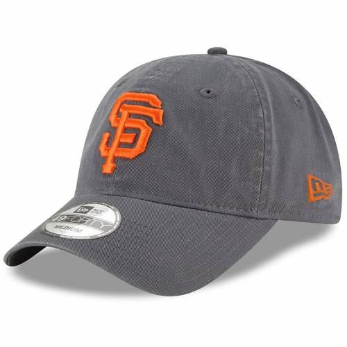 ニューエラ NEW ERA ジャイアンツ コア 【 NEW ERA SAN FRANCISCO GIANTS CORE 49FORTY FITTED HAT GRAPHITE 】 バッグ  キャップ 帽子 メンズキャップ 帽子