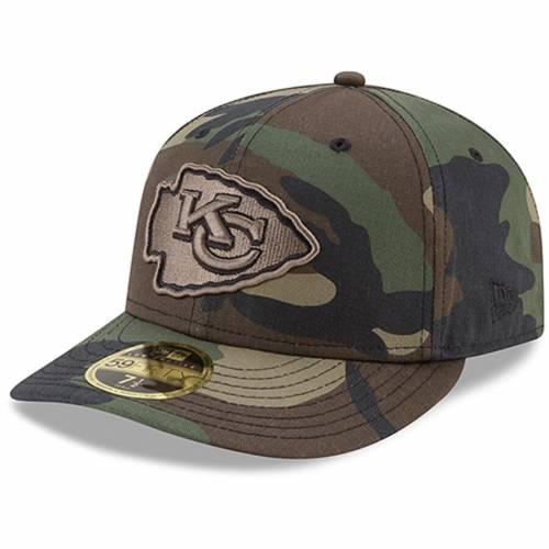 ニューエラ NEW ERA カンザス シティ チーフス ウッドランド 【 NEW ERA KANSAS CITY CHIEFS WOODLAND CAMO LOW PROFILE 59FIFTY FITTED HAT COLOR 】 バッグ  キャップ 帽子 メンズキャップ 帽子
