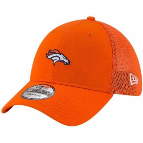 ニューエラ NEW ERA デンバー ブロンコス チーム 橙 オレンジ バッグ キャップ 帽子 メンズキャップ メンズ 【 Denver Broncos Team Precision 39thirty Flex Hat - Orange 】 Orange