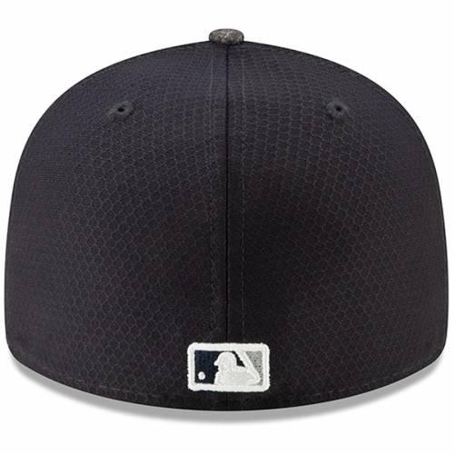 ニューエラ NEW ERA ヤンキース バッティング プラクティス 灰色 グレー グレイ バッグ キャップ 帽子 メンズキャップ メンズ 【 New York Yankees 2019 Batting Practice Road Low Profile 59fifty Fitted Hat -