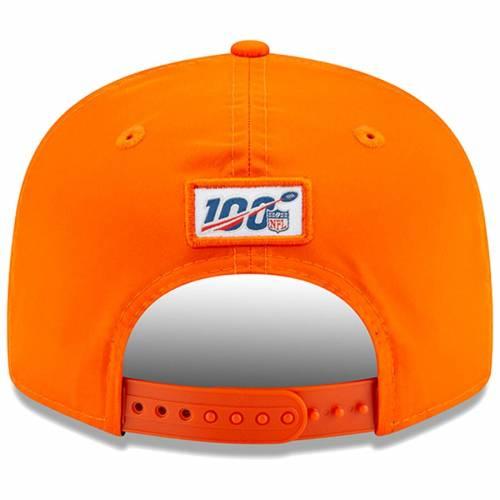 ニューエラ NEW ERA デンバー ブロンコス サイドライン スナップバック バッグ 橙 オレンジ キャップ 帽子 メンズキャップ メンズ 【 Denver Broncos 2019 Nfl Sideline Home Official 9fifty 1960s Snapback Ad