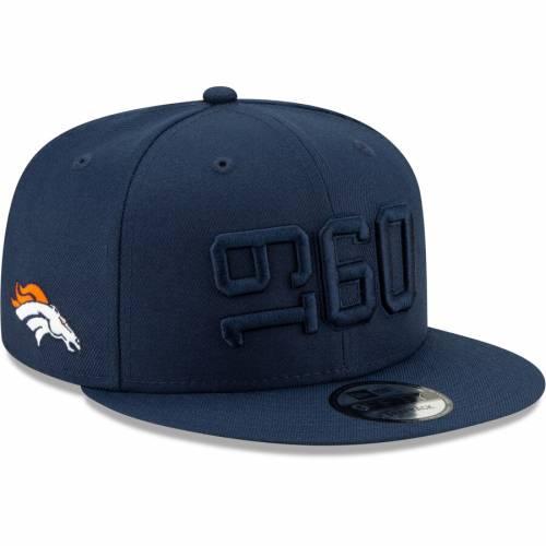 ニューエラ NEW ERA デンバー ブロンコス サイドライン ラッシュ スナップバック バッグ 紺 ネイビー キャップ 帽子 メンズキャップ メンズ 【 Denver Broncos 2019 Nfl Sideline Color Rush 9fifty Adjusta