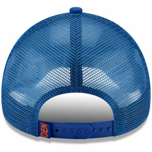 ニューエラ NEW ERA デンバー ブロンコス バッグ キャップ 帽子 メンズキャップ メンズ 【 Denver Broncos Rincon A-frame 9forty Adjustable Hat - Royal 】 Royal