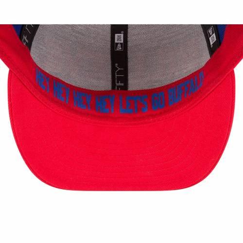 ニューエラ NEW ERA バッファロー ビルズ バッグ キャップ 帽子 メンズキャップ メンズ 【 Buffalo Bills 2018 Nfl Draft Spotlight Low Profile 59fifty Fitted Hat - Royal/red 】 Royal/red