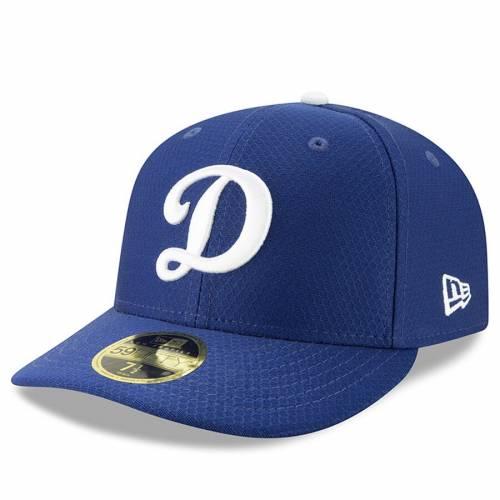 ニューエラ NEW ERA ドジャース バッティング プラクティス 青 ブルー バッグ キャップ 帽子 メンズキャップ メンズ 【 Los Angeles Dodgers 2019 Batting Practice Home Low Profile 59fifty Fitted Hat - Blue 】 B