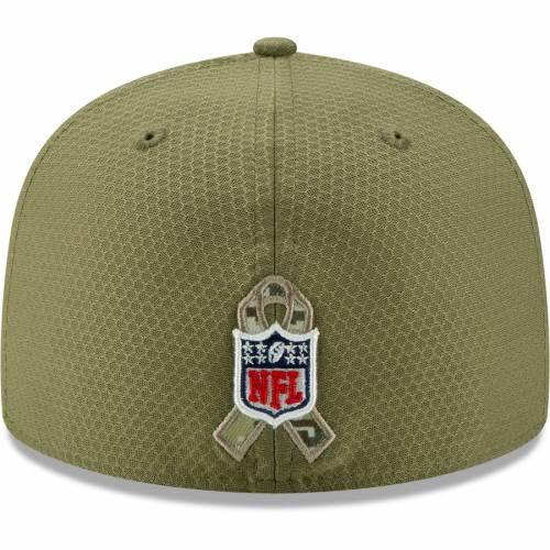ニューエラ NEW ERA ワシントン レッドスキンズ サイドライン オリーブ バッグ キャップ 帽子 メンズキャップ メンズ 【 Washington Redskins 2019 Salute To Service Sideline 59fifty Fitted Hat - Olive 】 Olive
