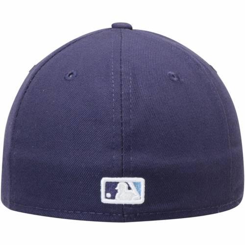 ニューエラ NEW ERA レイズ オーセンティック コレクション 紺 ネイビー バッグ キャップ 帽子 メンズキャップ メンズ 【 Tampa Bay Rays Alternate Authentic Collection On-field Low Profile 59fifty Fitted Hat -