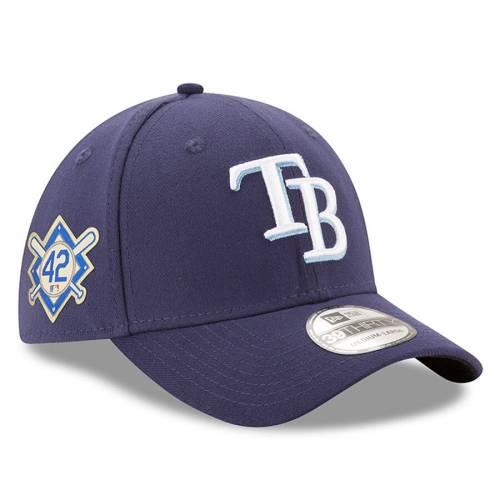 ニューエラ NEW ERA レイズ 紺 ネイビー バッグ キャップ 帽子 メンズキャップ メンズ 【 Tampa Bay Rays Jackie Robinson Day 39thirty Flex Hat - Navy 】 Navy