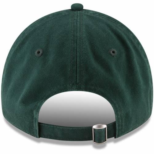 ニューエラ NEW ERA ミシガン スケートボード ターフ 緑 グリーン バッグ キャップ 帽子 メンズキャップ メンズ 【 Michigan State Spartans Ncaa Home Turf 9twenty Adjustable Hat - Green 】 Green