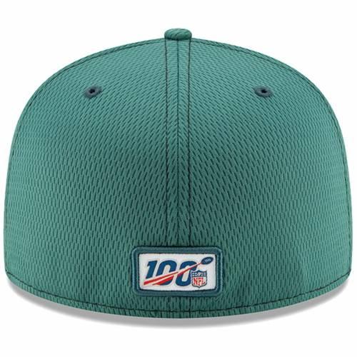 ニューエラ NEW ERA フィラデルフィア イーグルス サイドライン 緑 グリーン バッグ キャップ 帽子 メンズキャップ メンズ 【 Philadelphia Eagles 2019 Nfl Sideline Road Official 59fifty Fitted Hat - Green