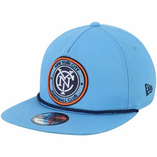 ニューエラ NEW ERA シティ スナップバック バッグ スカイ 青 ブルー キャップ 帽子 メンズキャップ メンズ 【 New York City Fc Golfer Rope Snapback Hat - Sky Blue 】 Sky Blue