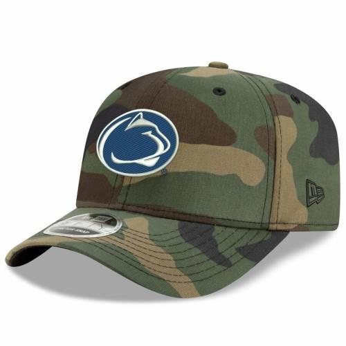 ニューエラ NEW ERA スケートボード ライオンズ ウッドランド バッグ キャップ 帽子 メンズキャップ メンズ 【 Penn State Nittany Lions Woodland Camo 9fifty Stretch Snap Adjustable Hat - Camo 】 Camo