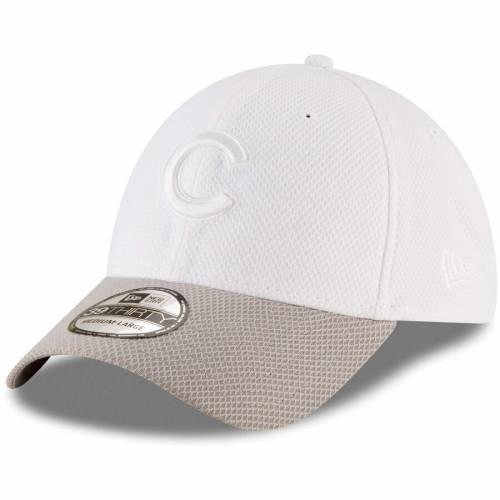 ニューエラ NEW ERA シカゴ カブス テック 白 ホワイト バッグ キャップ 帽子 メンズキャップ メンズ 【 Chicago Cubs Tone Tech Redux 2 39thirty Flex Hat - White 】 White