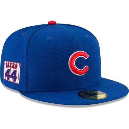 ニューエラ NEW ERA アンソニー シカゴ カブス バッグ キャップ 帽子 メンズキャップ メンズ 【 Anthony Rizzo Chicago Cubs Player Patch 59fifty Fitted Hat - Royal 】 Royal