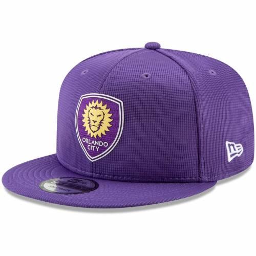 ニューエラ NEW ERA オーランド シティ スナップバック バッグ 紫 パープル キャップ 帽子 メンズキャップ メンズ 【 Orlando City Sc On-field 9fifty Adjustable Snapback Hat - Purple 】 Purple