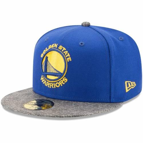 ニューエラ NEW ERA スケートボード ウォリアーズ 【 STATE NEW ERA GOLDEN WARRIORS GRIPPING VIZE 59FIFTY FITTED HAT ROYAL 】 バッグ  キャップ 帽子 メンズキャップ 帽子