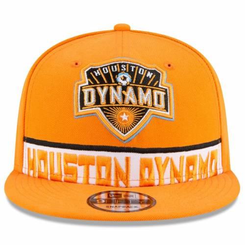 ニューエラ NEW ERA ヒューストン デュエル 橙 オレンジORANGE NEW ERA HOUSTON DYNAMO DUAL SPIRIT 9FIFTY ADJUSTABLE HATバッグキャップ 帽子 メンズキャップ 帽子F3TlJcK1