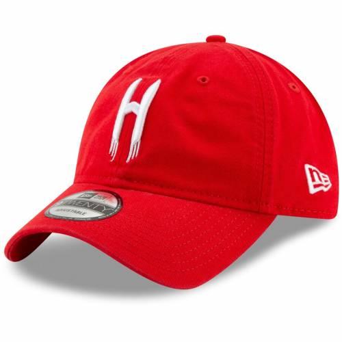 ニューエラ NEW ERA ヒューストン ロケッツ チーム ロゴ ハーフ シリーズ 赤 レッド バッグ キャップ 帽子 メンズキャップ メンズ 【 Houston Rockets Team Logo Back Half Series 9twenty Adjustable Hat - Red