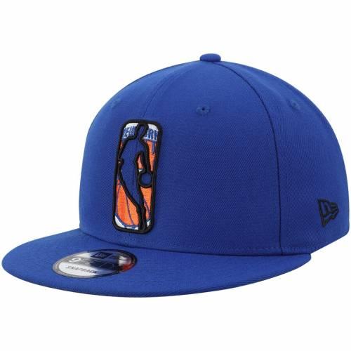 ニューエラ NEW ERA ニックス ロゴ スナップバック バッグ キャップ 帽子 メンズキャップ メンズ 【 New York Knicks Logo Man 9fifty Snapback Hat - Royal 】 Royal