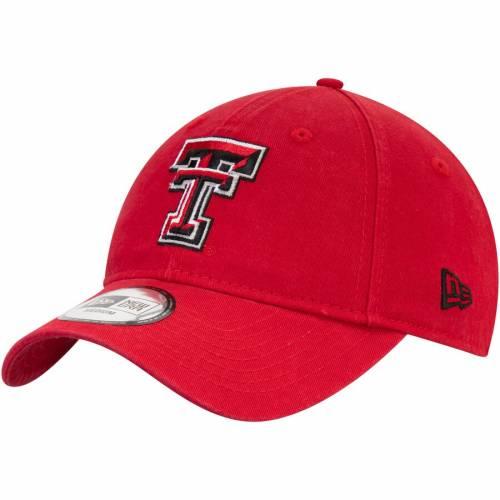 ニューエラ NEW ERA テキサス テック 赤 レッド レイダース コア 【 RED NEW ERA TEXAS TECH RAIDERS CORE FIT 49FORTY FITTED HAT 】 バッグ  キャップ 帽子 メンズキャップ 帽子